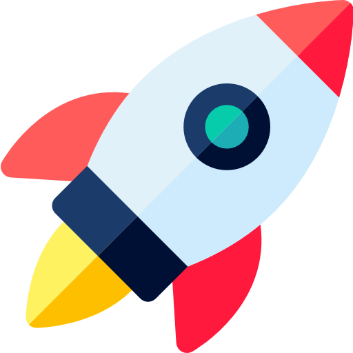 Bild einer Rakete